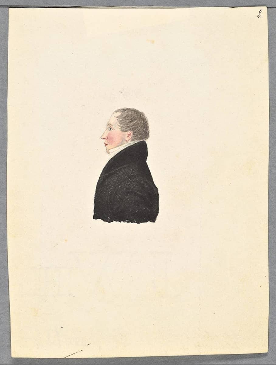 """Porträtt av Johan Arvid Afzelius"""" på Arkivkopia"""